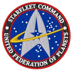 Starfleet Command embroidery design