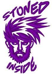 Stoned Inside embroidery design