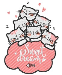 Sweet Dream embroidery design