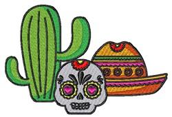 Mexican Scene embroidery design