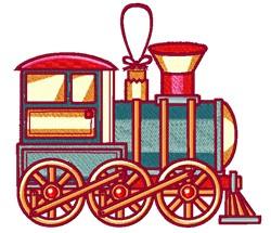 Train Engine embroidery design
