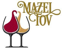 Mazel Tov embroidery design
