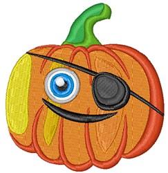Kawaii Halloween Jack-O-Lantern embroidery design