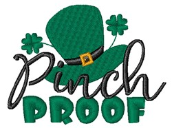 Pinch Proof embroidery design