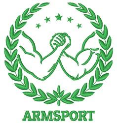 Armsport embroidery design