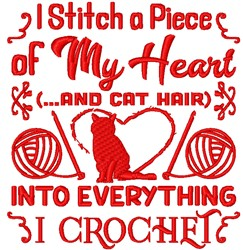 In Everything I Crochet embroidery design