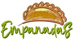 Empanadas embroidery design