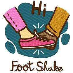 Hi Foot Shake embroidery design