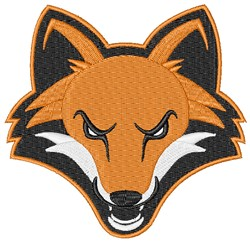 Fox Mascot embroidery design
