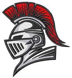 Trojan Mascot embroidery design