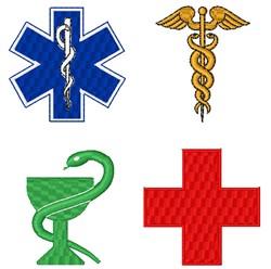 Medical Logos embroidery design