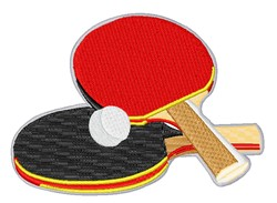 Ping Pong Gear embroidery design