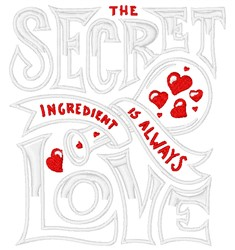 Season With Love embroidery design