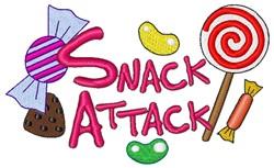 Dessert Snack Attack embroidery design