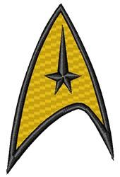 Star Trek Logo embroidery design