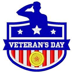 Veterans Day  Logo embroidery design