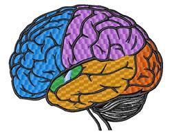Brain embroidery design