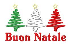 Buon Natale embroidery design