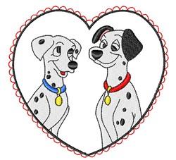 Pongo & Perdita embroidery design