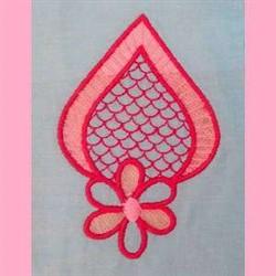 Cutwork Flower embroidery design