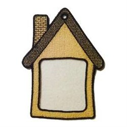 FSL House Frame embroidery design