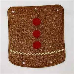 FSL Posable Gingerbread Dangler embroidery design