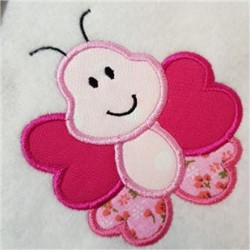 Applique Butterfly embroidery design