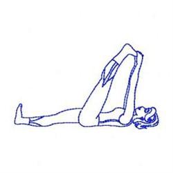 Bluework Yoga Stretch embroidery design