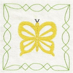 Easter Butterfly embroidery design