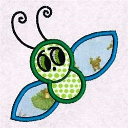 Applique Insect embroidery design