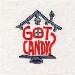 Got Candy embroidery design