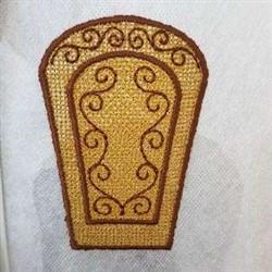 FSL Baskets Side embroidery design