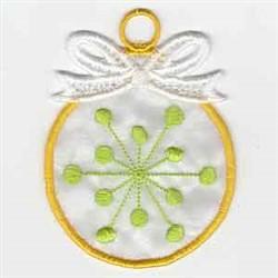 FSL Applique Snowflake embroidery design