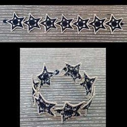 FSL Star Bracelets embroidery design