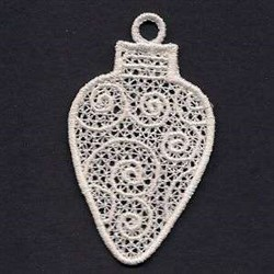 FSL Light Bulb embroidery design