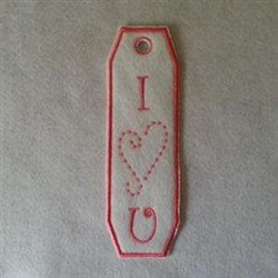 ITH Love Gift Bag embroidery design