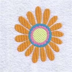 Groovy Daisy embroidery design