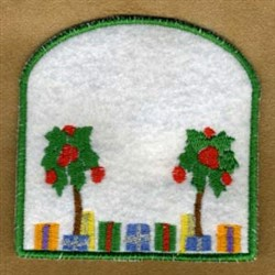 ITH Gift Card Holder embroidery design