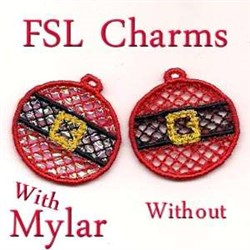 FSL Charms embroidery design