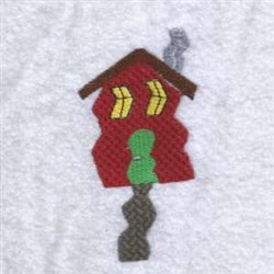 Crooked Mans House embroidery design