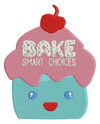 Bake Smart Choices embroidery design