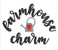 Farmhouse Charm embroidery design