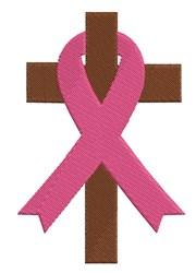 Ribbon Cross embroidery design