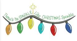 Christmas Sparkle embroidery design