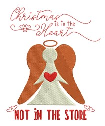Christmas In The Heart embroidery design