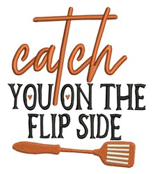 Flip Side embroidery design