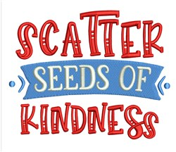 Seeds Of Kindness embroidery design