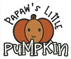 Papaws Pumpkin embroidery design