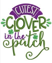 Cutest Clover embroidery design