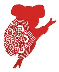Mandala Koala embroidery design